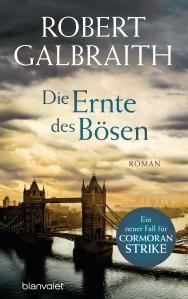 Die Ernte des Boesen von Robert Galbraith